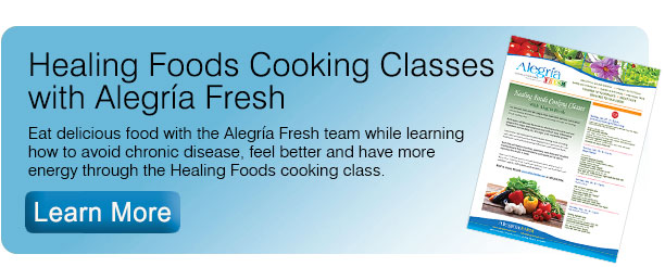 Healing Foods Cooking Classes