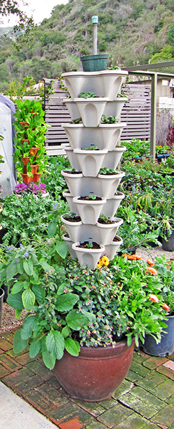 Custom Vertical Garden tower